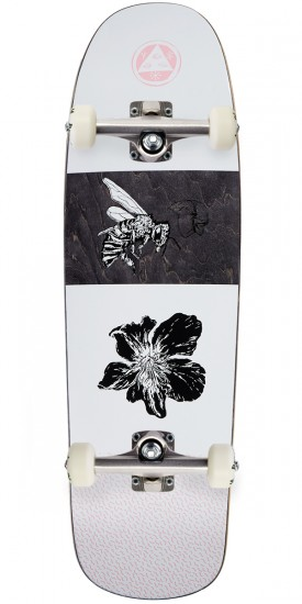 Welcome Adaptation on Slappy Slap Skateboard Complete - White/Pink - 9.5