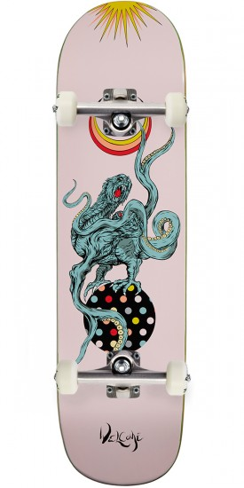 Welcome Demon Prince on Big Bunyip Skateboard Complete - Pink - 8.5