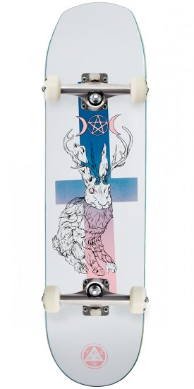 Welcome Jack Magick on Helm of Awe 2.0 Skateboard Complete - White - 8.38