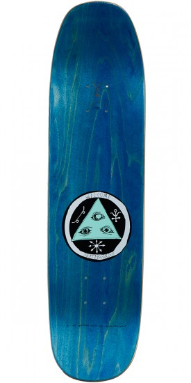 Welcome The Magician on Son of Moontrimmer Skateboard Deck - Teal - 8.25
