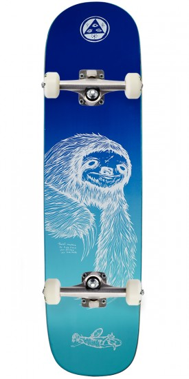 Welcome Sloth on Yung Nibiru Skateboard Complete - Dusk - 8.25