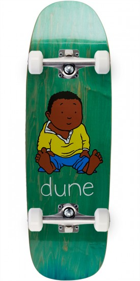 Dune Sitting Baby Skateboard Complete - 9.75""