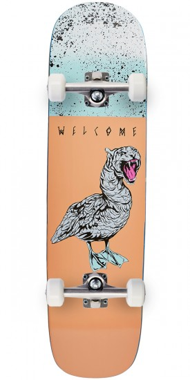 Welcome Gooser on Yung Nibiru Skateboard Complete - Peach - 8.25