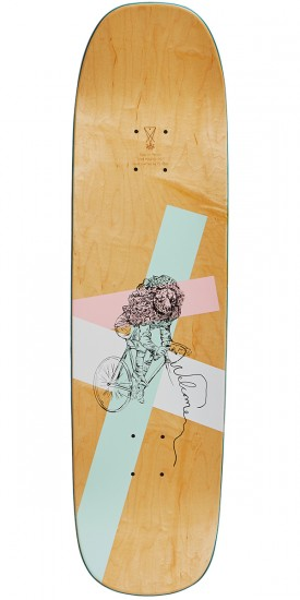 Welcome Inferno on Stonecipher Skateboard Deck - Ryan Lay - White/Natural - 8.6