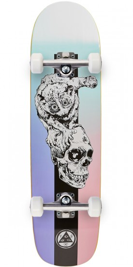 Welcome Loris Loughlin on Son Of Planchette Skateboard Complete - Teal/Black - 8.38