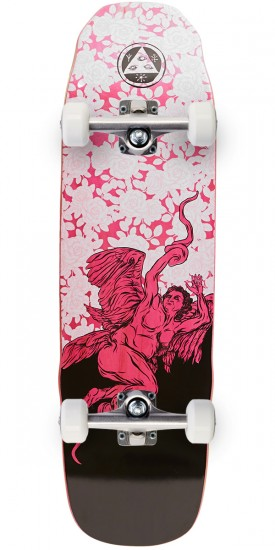 Welcome Seraphim on Sledgehammer Skateboard Complete - Pink - 9.0