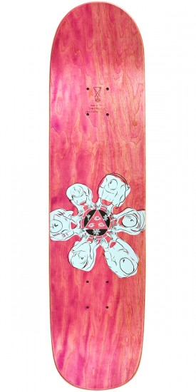 Welcome The Magician on Bunyip Skateboard Deck - Split Stain - 8.0