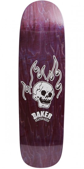 Baker From The Grave Shaped Skateboard Deck - 8.75
