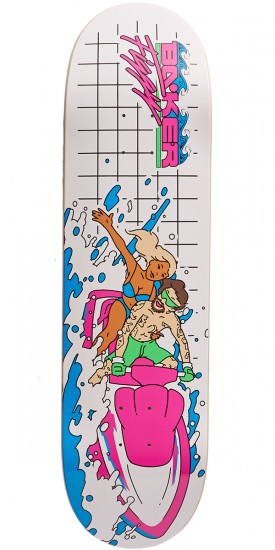 Baker Makin Waves Skateboard Deck - Figgy - 8.3875
