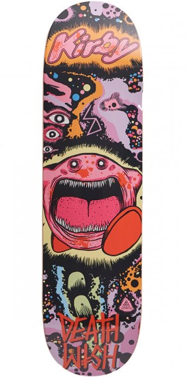 Deathwish Death Toons Skateboard Deck - Taylor Kirby - 8.25