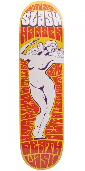 Deathwish Lady Of The Night Skateboard Deck - Slash - 8.125