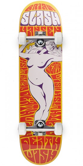 Deathwish Lady Of The Night Skateboard Complete - Slash - 8.125