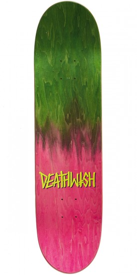Deathwish Gang Name Bows Skateboard Complete - Slash - 8.00