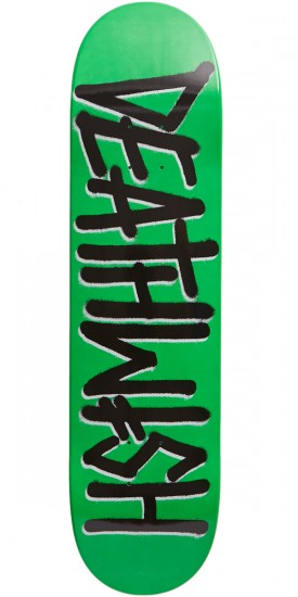 Deathwish Deathspray Skateboard Deck - Neon Green - 7.75