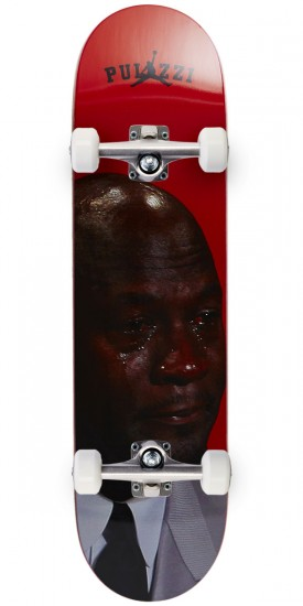 """Pizza Crying Michael Pulizzi Skateboard Complete - 8.18"""""""