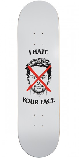 Skate Mental Kleppan I Hate Your Face Skateboard Deck - 8.25""