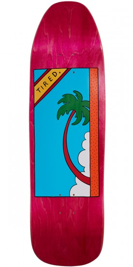 Tired Palm Tree On Stumpnose Skateboard Deck - 9.00