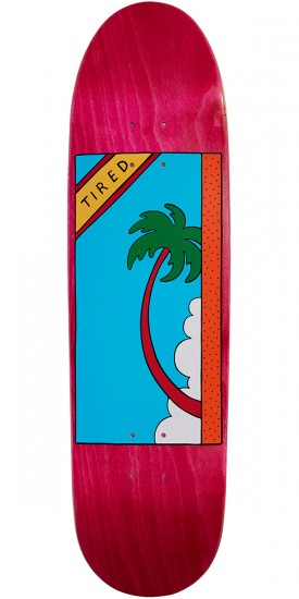Tired Palm Tree On Deal Skateboard Deck - 8.50