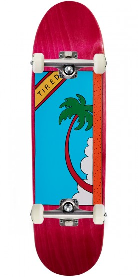 Tired Palm Tree On Deal Skateboard Complete - 8.50