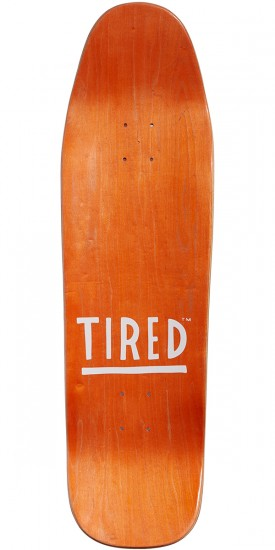 Tired Crooked E On Wanderer Skateboard Complete - 9.25