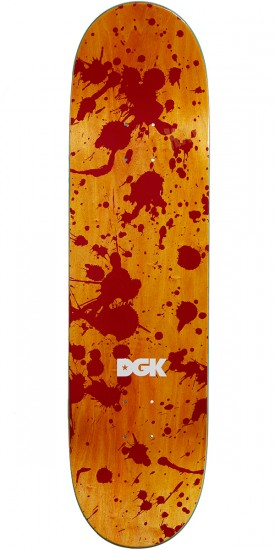 DGK G Killers Kalis Skateboard Deck - 8.38""