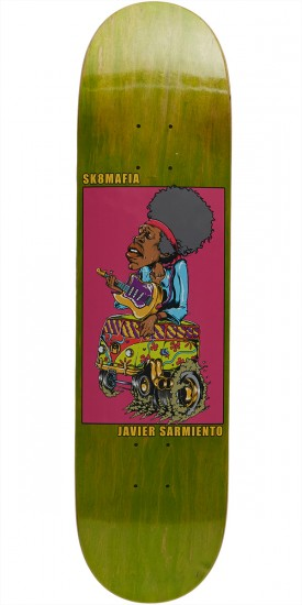 Sk8 Mafia Legends 2 Sarmiento Skateboard Deck - 7.80""