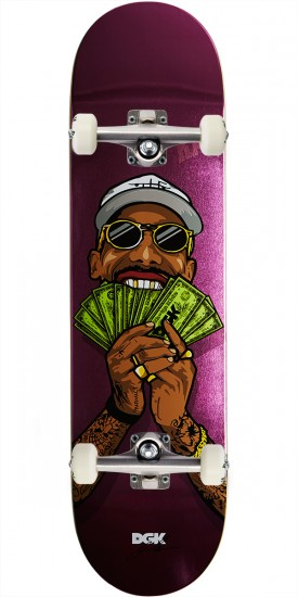 DGK Money Fan Boo Skateboard Complete - 8.25""