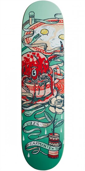 Birdhouse Lizzie Favorites Prism Skateboard Deck - 8.00""