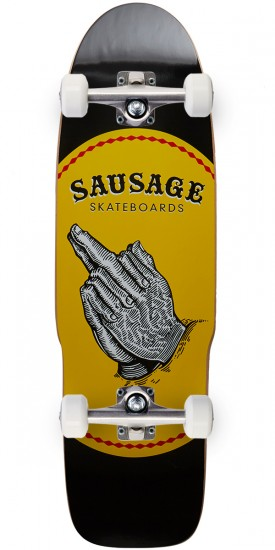 Sausage Praying Finger Dagger Skateboard Complete - 8.75""