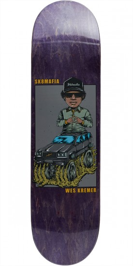 "Sk8 Mafia Legends 2 Kremer Skateboard Deck - 8.25"" - Purple"