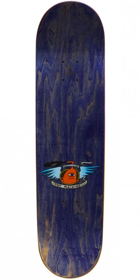 Toy Machine Vice Monster Skateboard Deck - Purple Stain - 8.125""