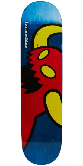 Toy Machine Vice Monster Skateboard Deck - Blue Stain - 8.125""