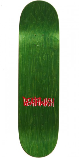 Deathwish Street Sweeper Skateboard Complete - 8.5 - Blue Stain