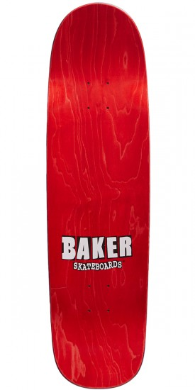 Baker From The Grave Shaped Skateboard Deck - 8.75 - Blue Stain