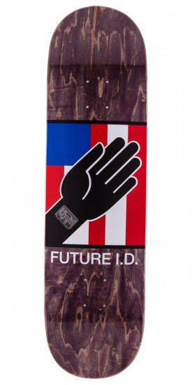Alien Workshop By Any Means Future ID Skateboard Deck - Black Stain - 8.5""