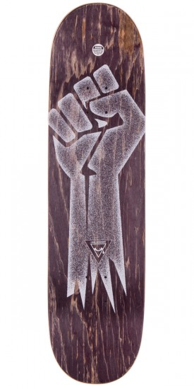 """Alien Workshop By Any Means Future ID Skateboard Complete - Black Stain - 8.5"""""""