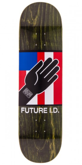 """Alien Workshop By Any Means Future ID Skateboard Deck - Green Stain - 8.5"""""""
