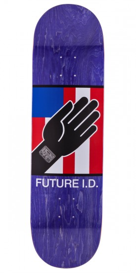 Alien Workshop By Any Means Future ID Skateboard Deck - Purple Stain - 8.5""