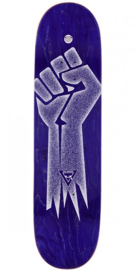 """Alien Workshop By Any Means Future ID Skateboard Complete - Purple Stain - 8.5"""""""