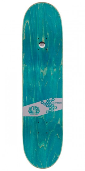 Alien Workshop Glyph Hex Mark Skateboard Deck - 8.125""