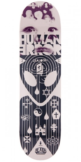 Alien Workshop HEXMARX Human Error Zealotry Skateboard Deck - 8.125""