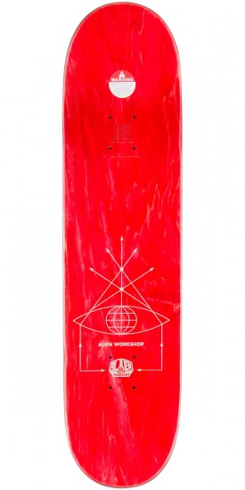 Alien Workshop High Priest Bishop Skateboard Complete - 8.25""