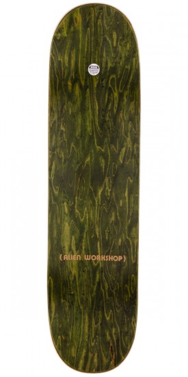 Alien Workshop Mock Death Skateboard Complete - Green Stain - 8.25""