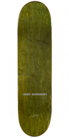 "Alien Workshop Ordo Large Skateboard Deck - 8.375"" - Brown Stain"