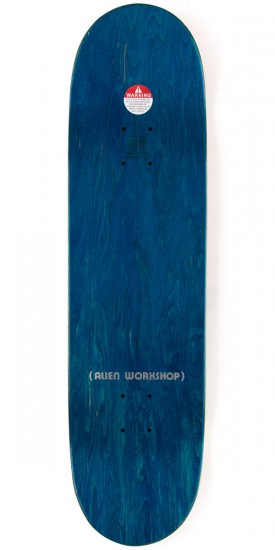 "Alien Workshop Ordo Large Skateboard Complete - 8.375"" - Blue Stain"