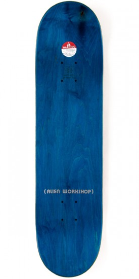 "Alien Workshop Ordo Small Skateboard Complete - 8.00"" - Red Stain"
