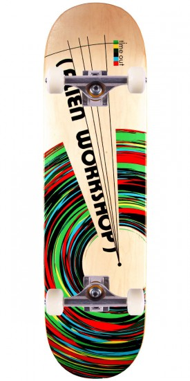 Alien Workshop Time Out Medium Skateboard Complete - 8.125""
