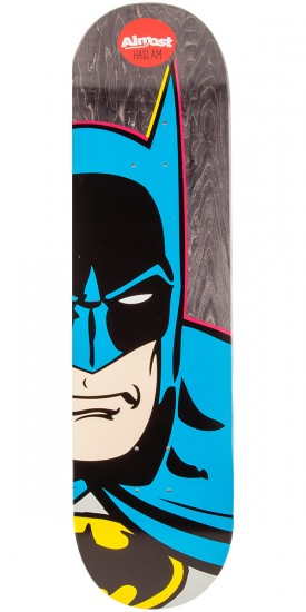 Almost Batman Split Face Haslam Skateboard Deck - 8.375""