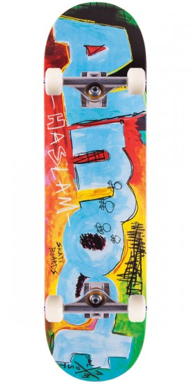 Almost Chris Haslam Paint Scraps Skateboard Complete - 8.375""