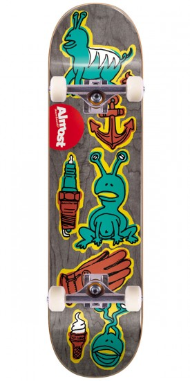 """Almost Dumb Doodle R7 Skateboard Complete - Daewon Song - 7.75"""""""
